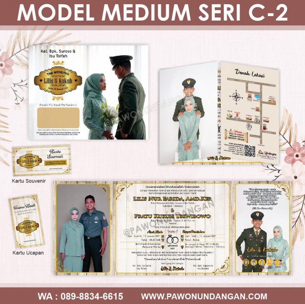 undangan softcover custom medium c2.15