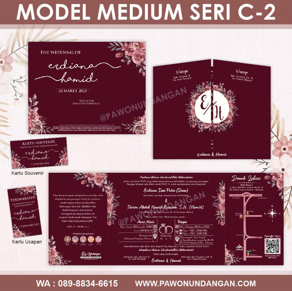 undangan softcover custom medium c2.16