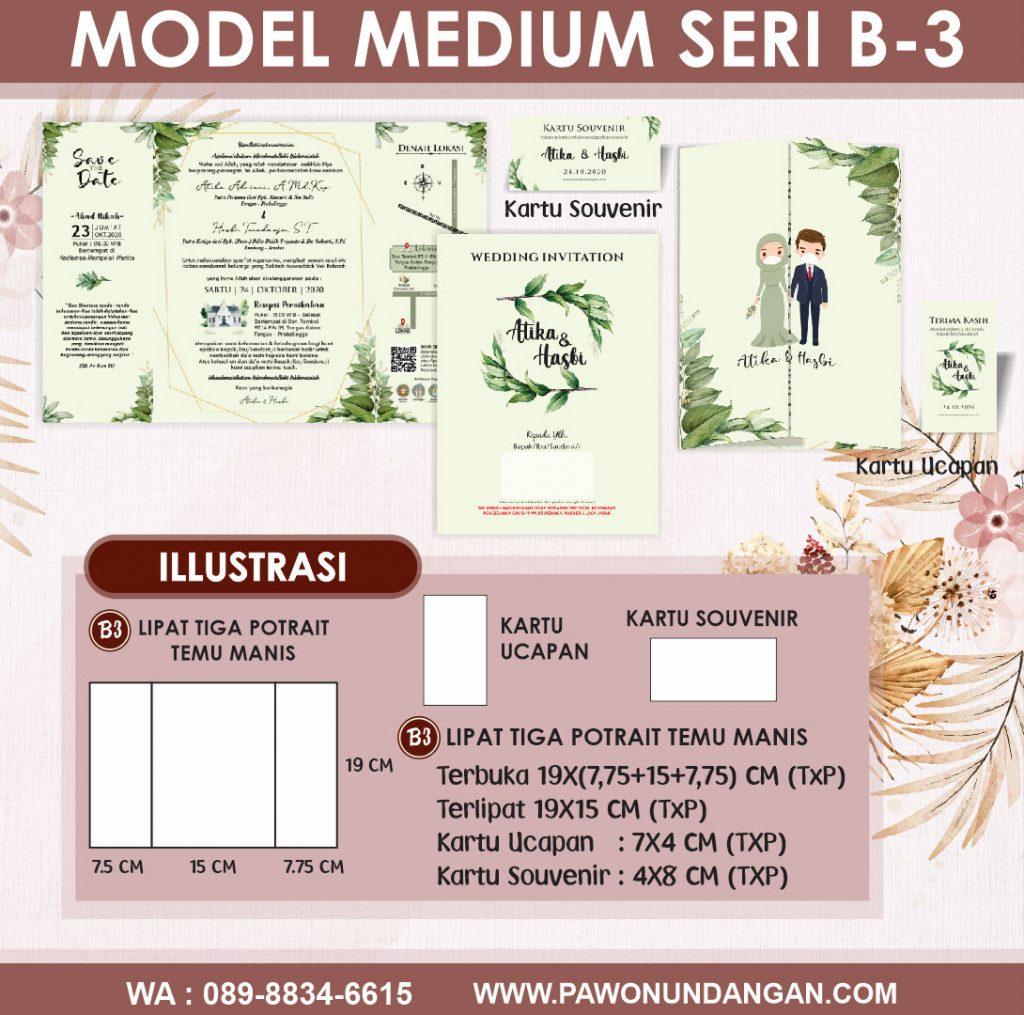 undangan softcover medium b3