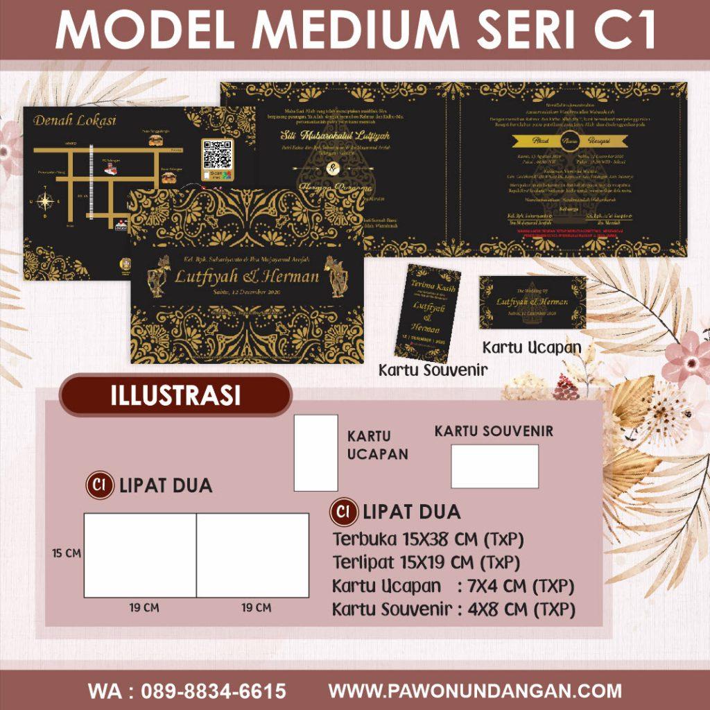 undangan softcover medium c1