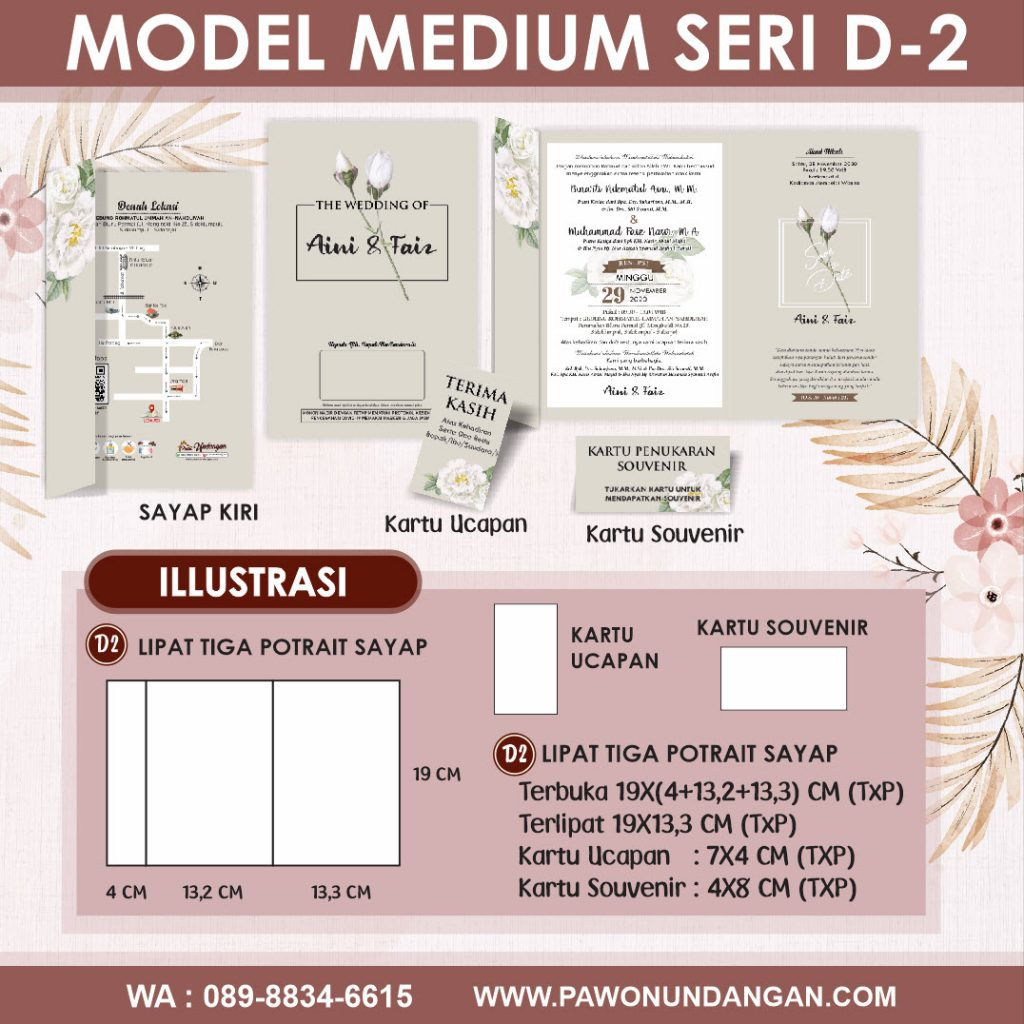 undangan softcover medium d2