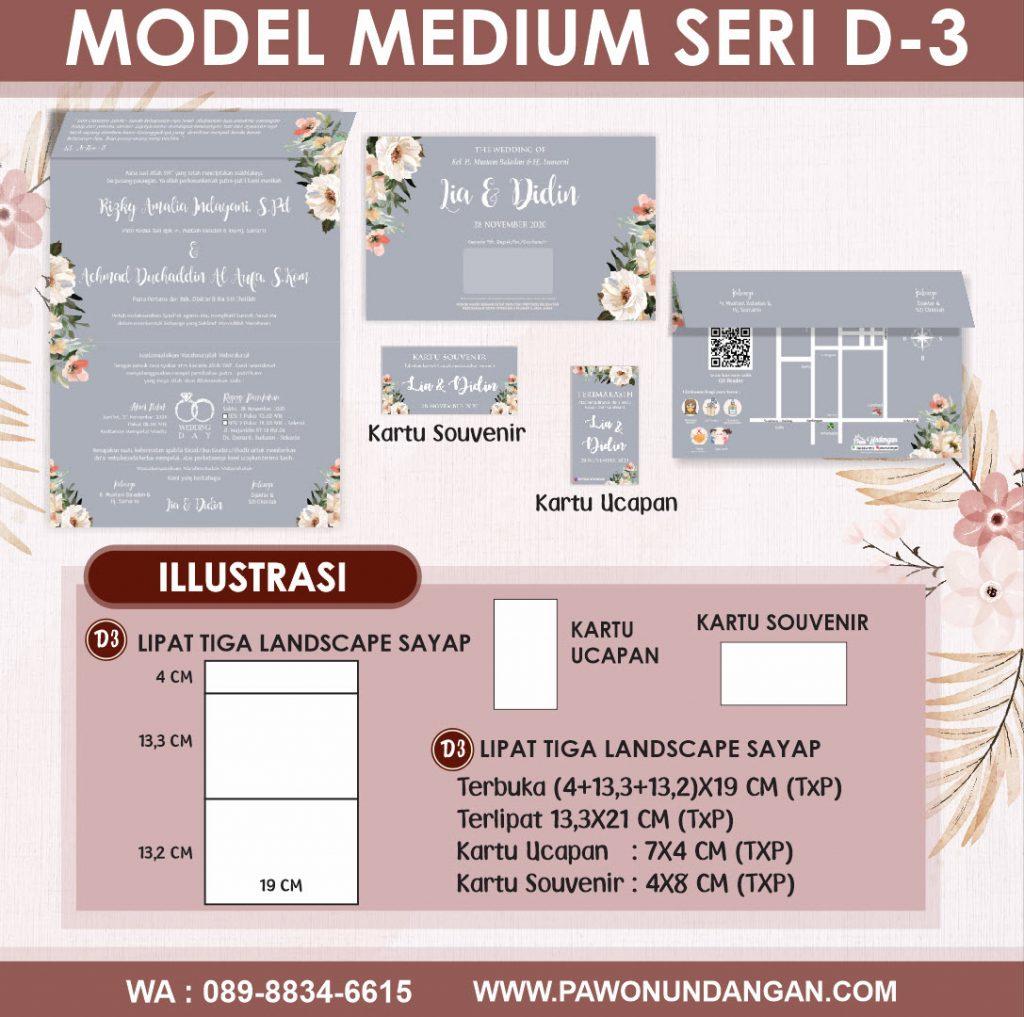 undangan softcover medium d3
