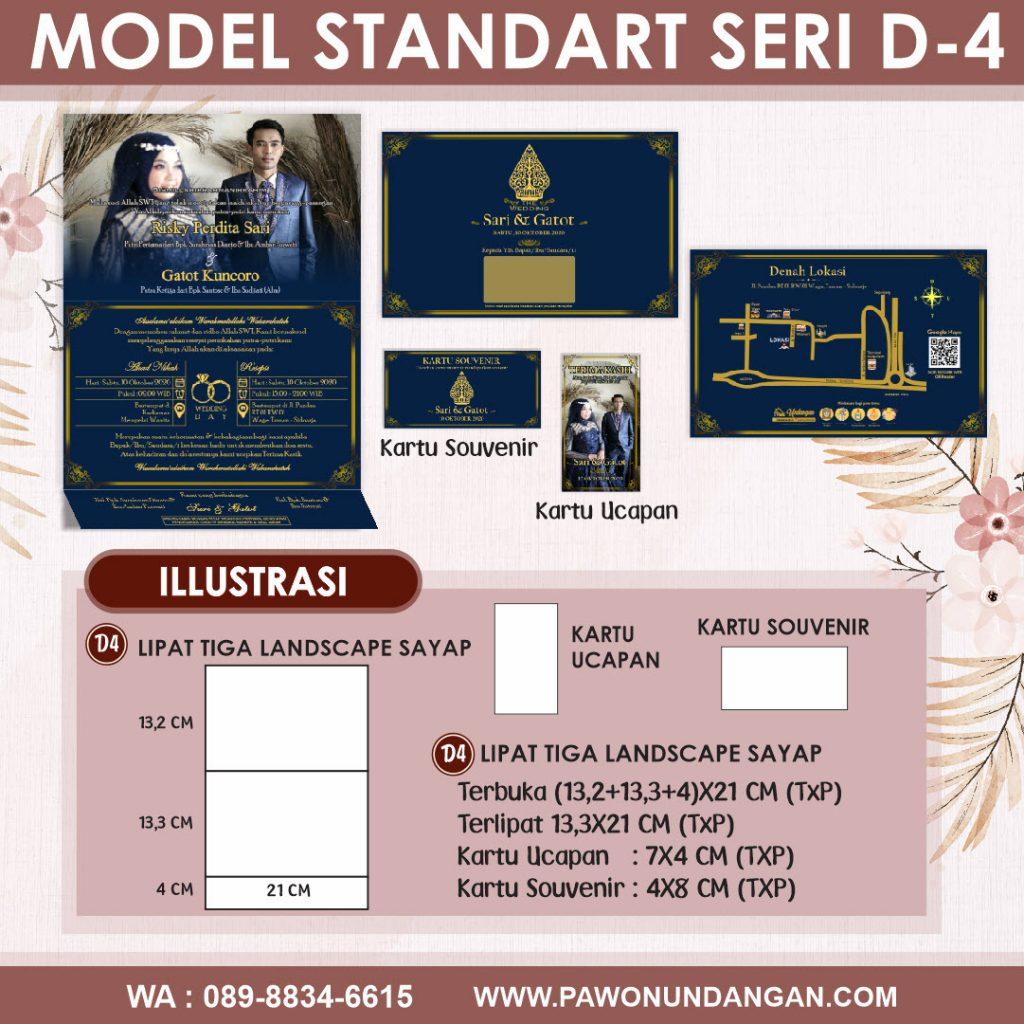 undangan softcover standart d4