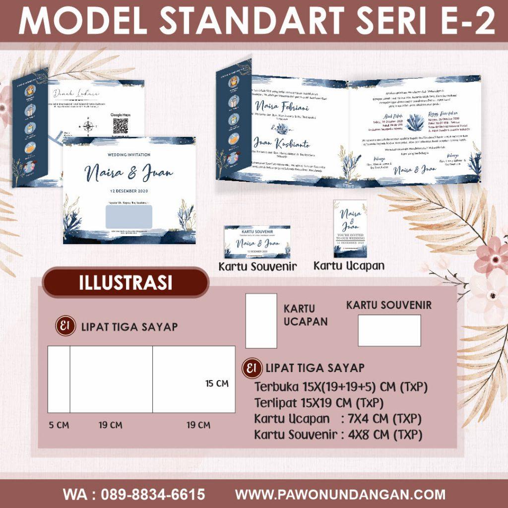 undangan softcover standart e2