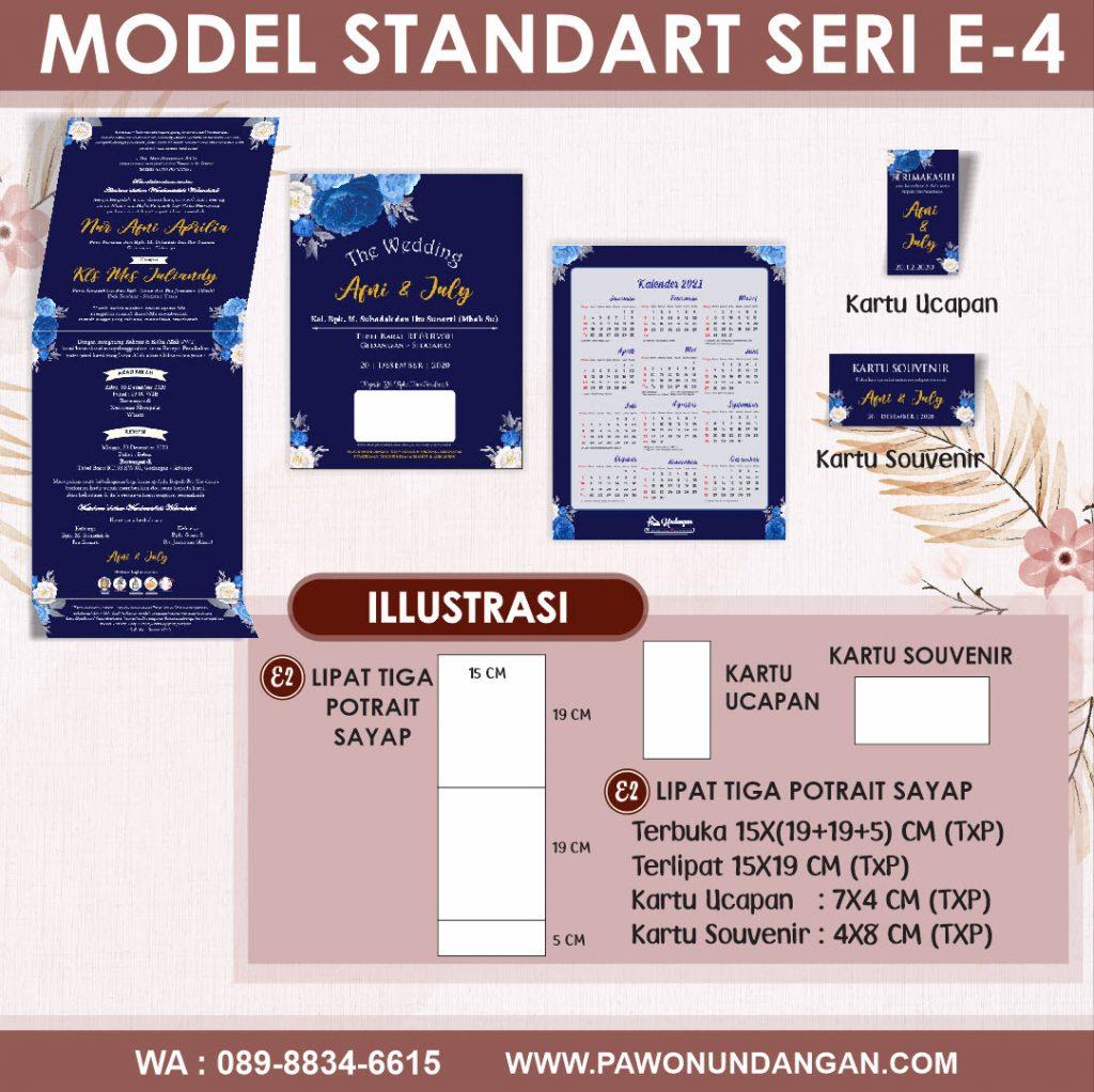 undangan softcover standart e4